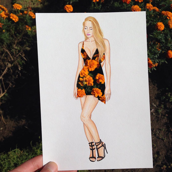 beautiful-fashion-sketches-drawings-paper-cut-out-dresses (6)