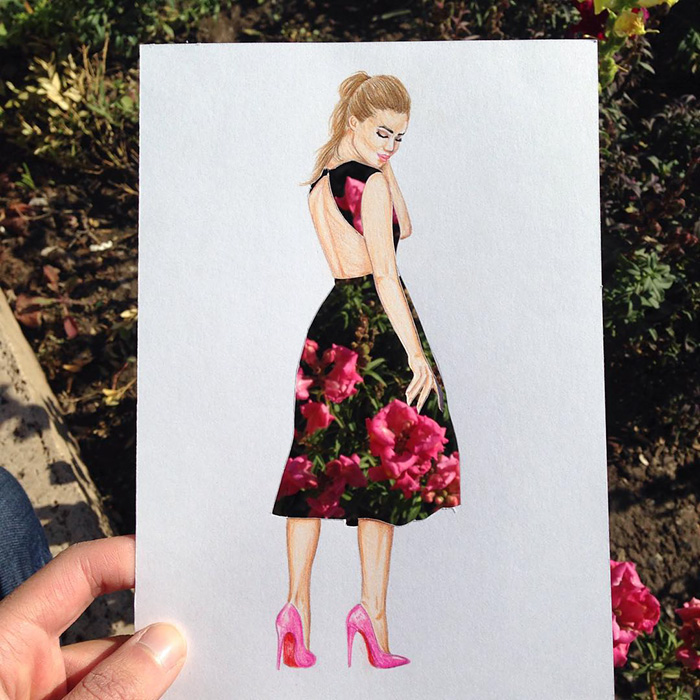 beautiful-fashion-sketches-drawings-paper-cut-out-dresses (7)