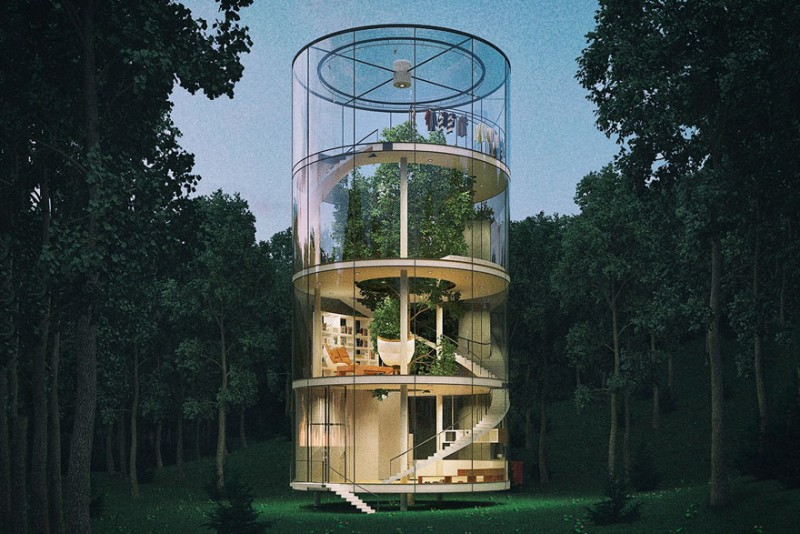 beautiful-tubular-glass-tree-house-green-design (7)