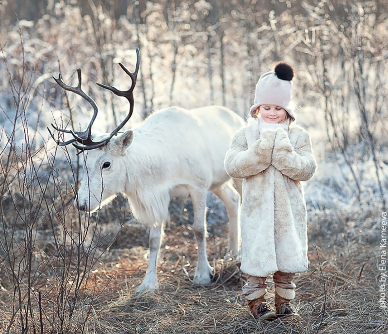 beautiful-winter-field-children-animal-playing-photographs (12)