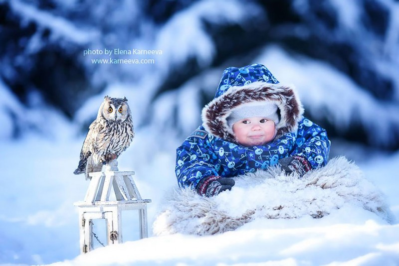 beautiful-winter-field-children-animal-playing-photographs (14)