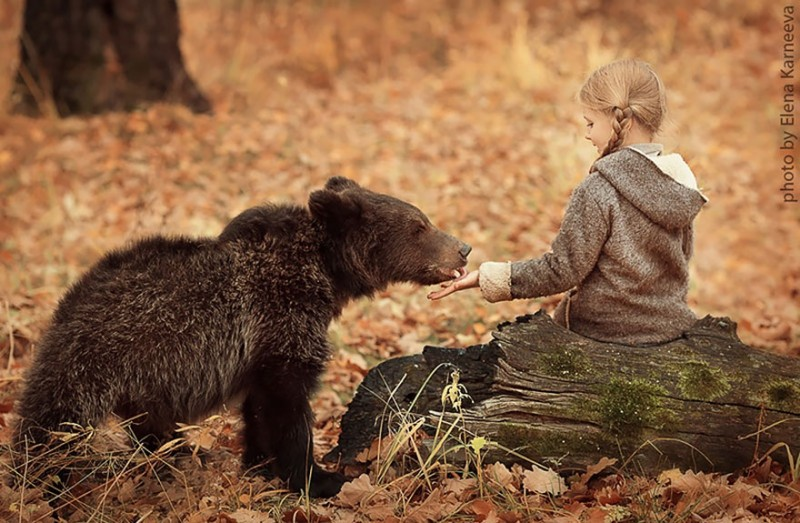 beautiful-winter-field-children-animal-playing-photographs (4)
