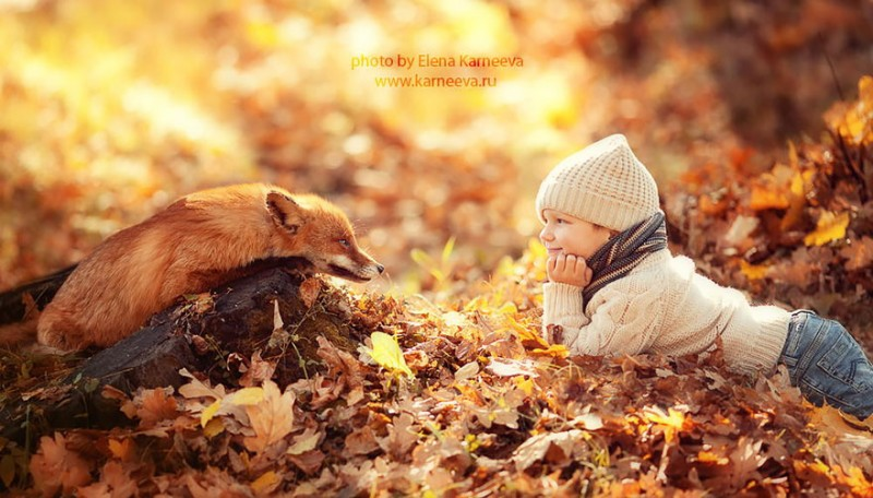 beautiful-winter-field-children-animal-playing-photographs (6)