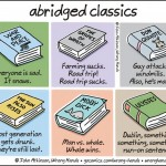 We can pretend to have read these classic novels after watching funny illustrations below