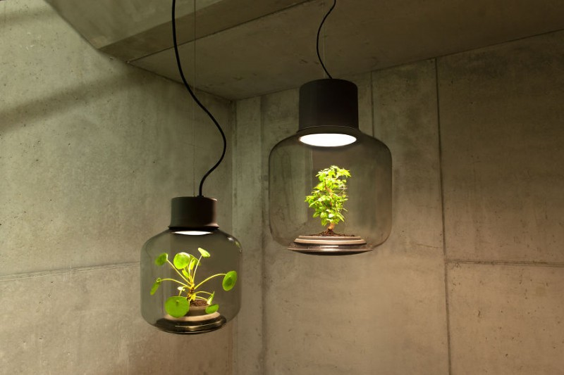 innovative-design-l&s-plants-grow-windowless-spaces (7) ... & Greenery lamps that plants inside can grow for years no requiring ...