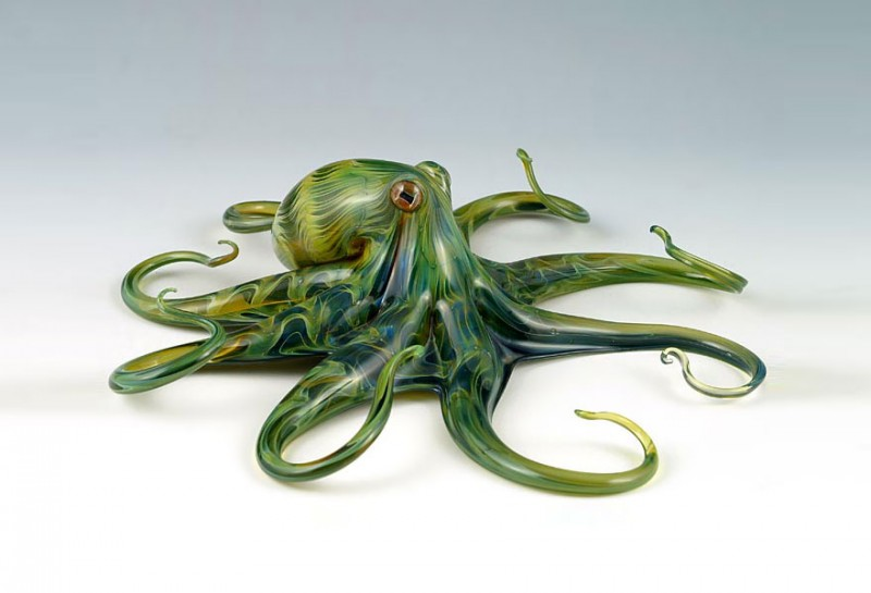 stunning-beautiful-colorful-handblown-glass-creatures-sculptures (8)