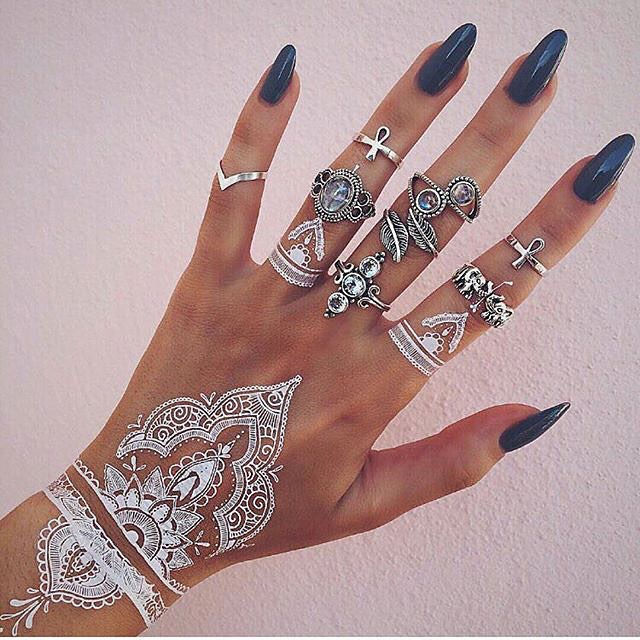 stunning-beautiful-elegant-mandalas-white-tattoos-design-like-lace (7)
