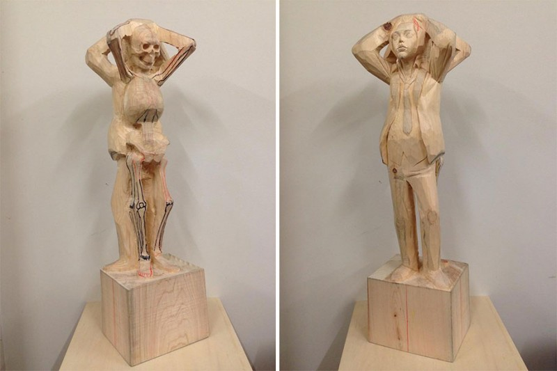 surreal-weird-bizarre-wooden-sculptures-art (14)