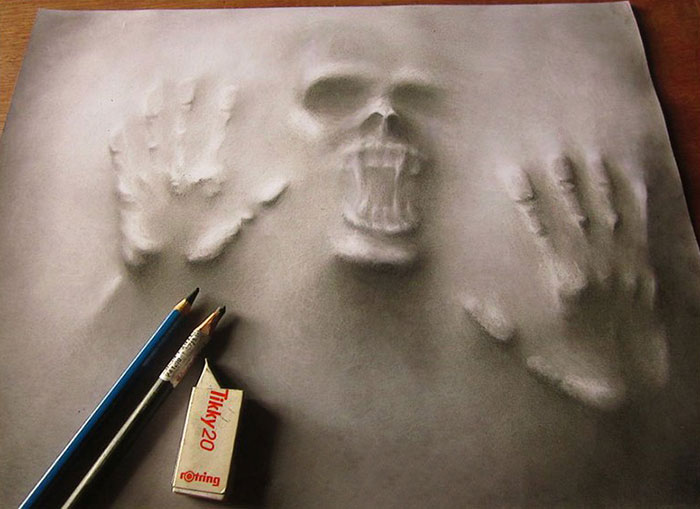 3d-pencil-drawings-skull-illustrations-art (3)
