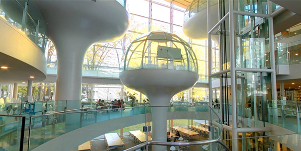 amazing-architecture-design-glass-dome-class-library-seikei-university-tokyo (7)