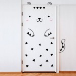 Cute door sticker designs