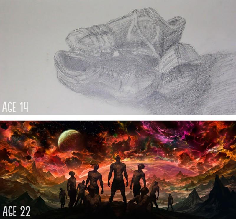 drawing-art-skills-progress-practice-makes-perfect (3)