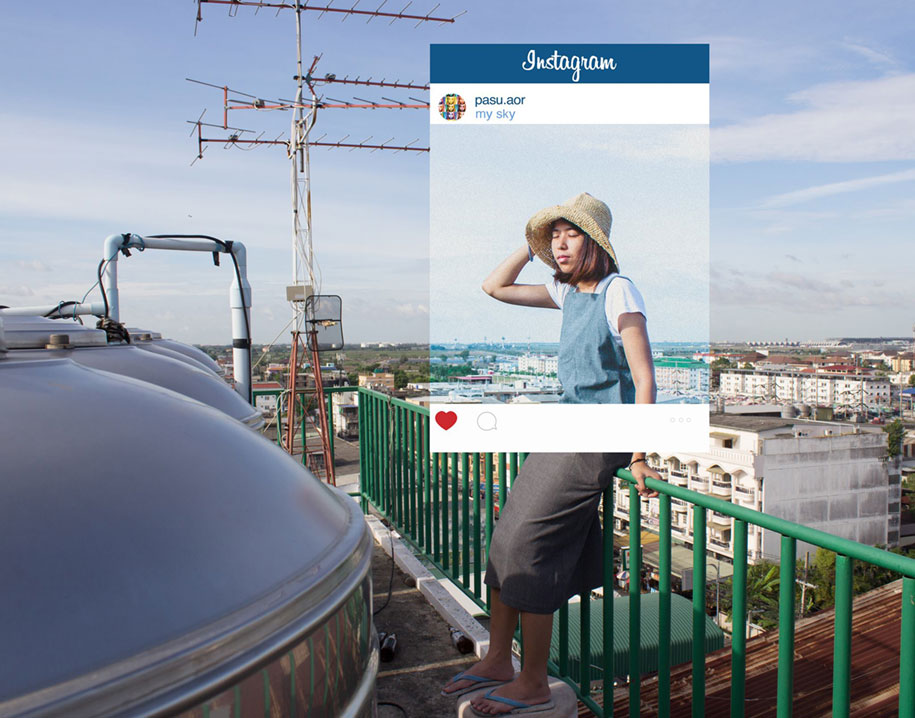 Photo series reveals the truth behind fake Instagram photos
