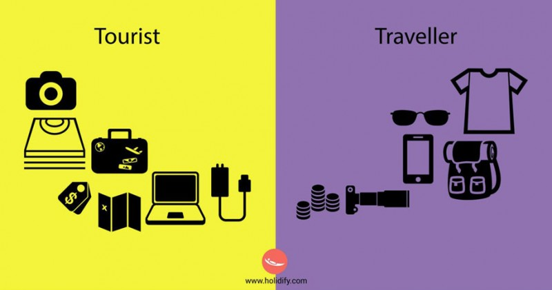 funny-illustration-differences-between-traveler-tourist (11)