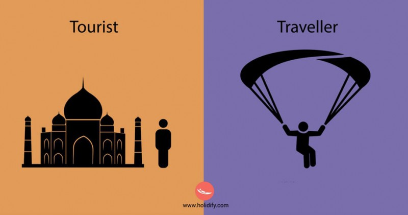 funny-illustration-differences-between-traveler-tourist (6)