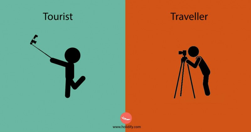 funny-illustration-differences-between-traveler-tourist (8)