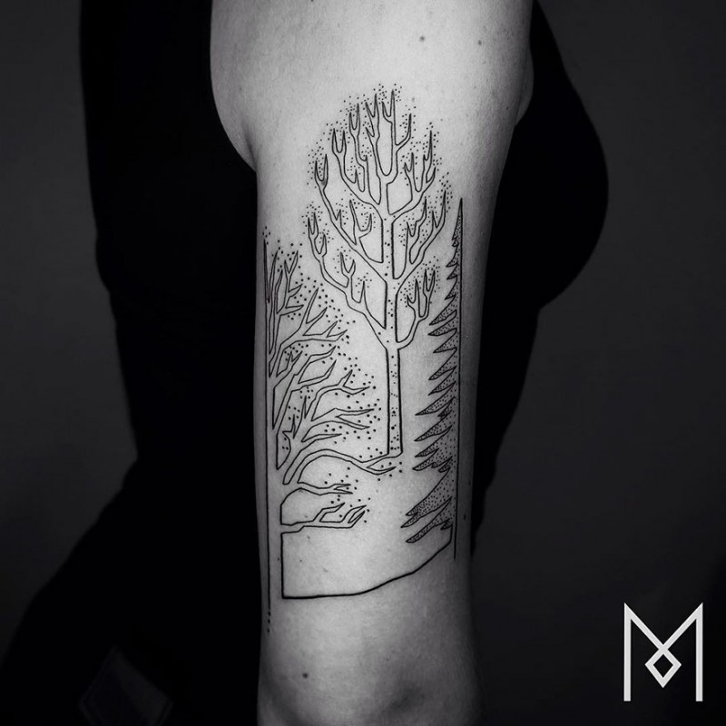 Minimalist-one-line-simple-tattoo-patterns-body-art (19)