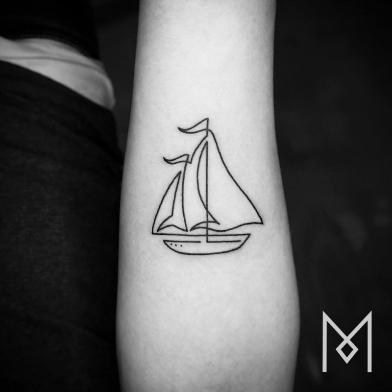 Minimalist-one-line-simple-tattoo-patterns-body-art (9)