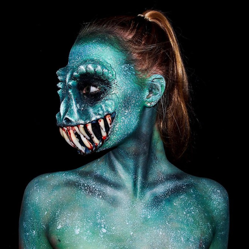 16 Year Old Self Taught Makeup Artist Turns Herself Into All Sorts Of Monsters Vuing Com