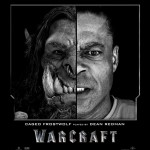 Actors before and after CG in Warcraft movie