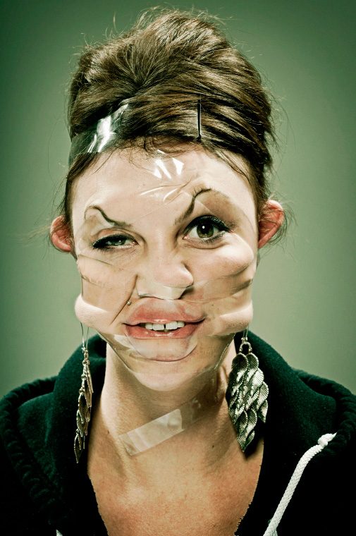 weird-bizarre-tape-portraits-photographs (15)