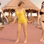The evolution of swimsuit in the past 100 years