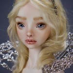Ball-jointed porcelain dolls with sophisticated beauty