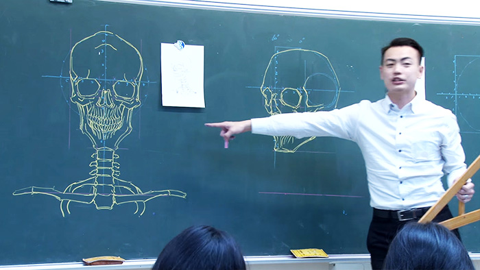chinese-teacher-amazing-anatomical-chalkboard-drawings-blackboard (5)