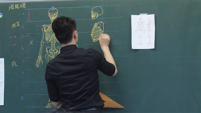 chinese-teacher-amazing-anatomical-chalkboard-drawings-blackboard (8)