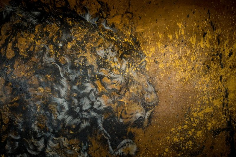 Traditional-Chinese-performance-art-Splattered-Ink-tiger-painting (1)