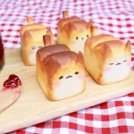 Lovely Bread Cat by Korean toy artist