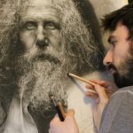 Incredibly photo-realistic portraits created by renaissance painting techniques