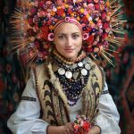 Stunning traditional floral crowns in Ukraine