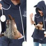 Summer edition of cat hoodie