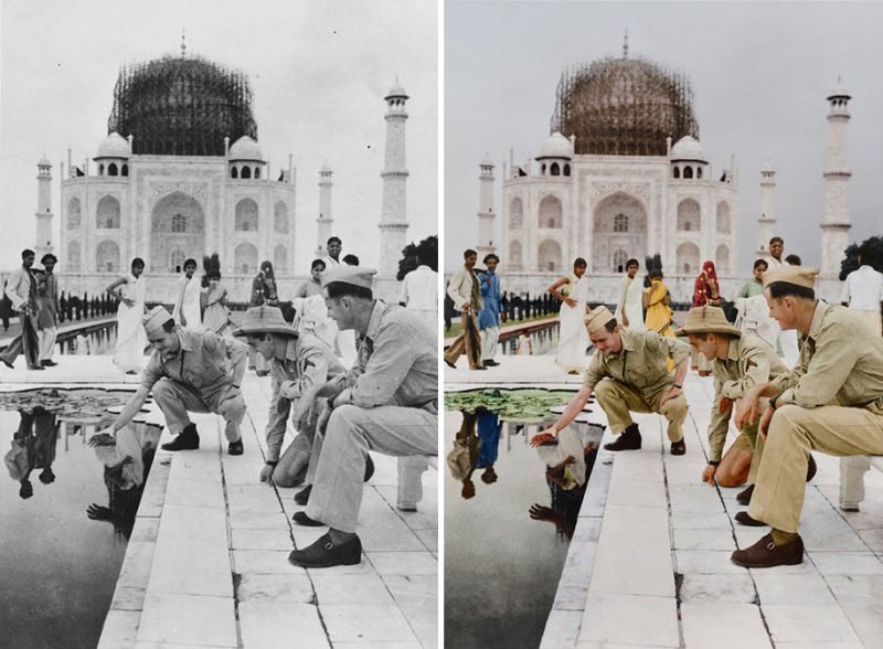 colorized-historic-old-black-and-white-photos-landmarks-under-construction (16)