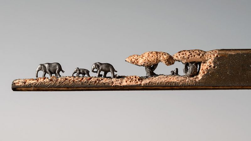 elephant-pencil-miniatures-sculptures-carving-art (5)
