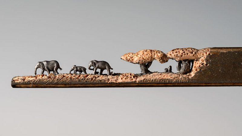 elephant-pencil-miniatures-sculptures-carving-art (5)