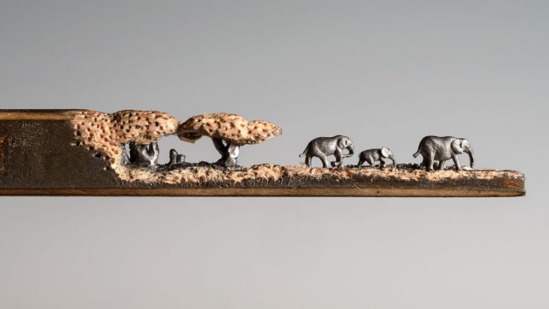elephant-pencil-miniatures-sculptures-carving-art (6)
