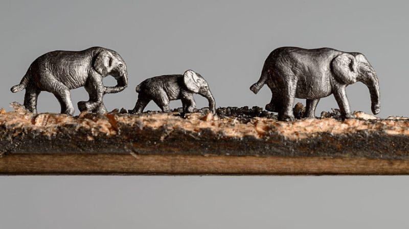 elephant-pencil-miniatures-sculptures-carving-art (7)