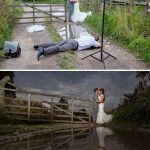 Behind-the-scenes of wedding photography