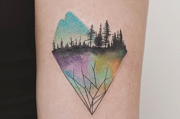 minimal-geometrical-nature-animals-tattoos-design (11)