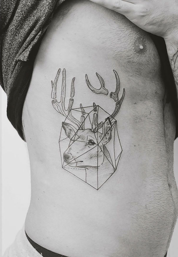 minimal-geometrical-nature-animals-tattoos-design (3)