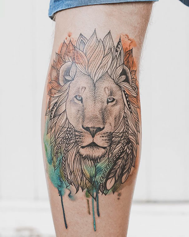 minimal-geometrical-nature-animals-tattoos-design (4)