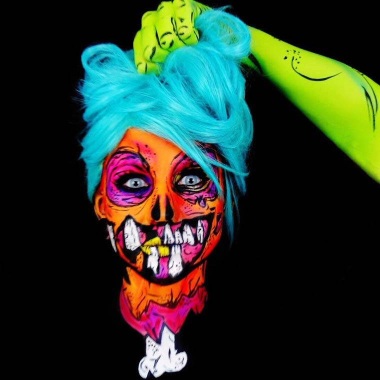 zombies-monsters-creatures-fluorescent-body-painting (3)