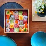 """Mosaic Sushi"" offers us the visual enjoyment of beauty"