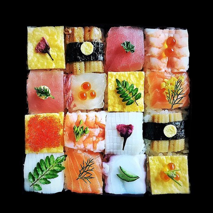 sushi beautiful fish food - photo #35