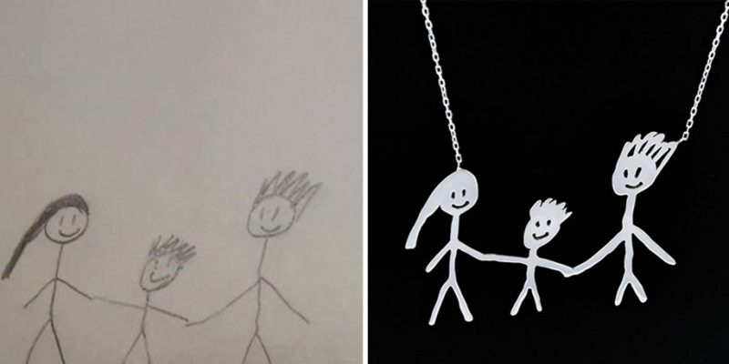cute-children-art-doodles-drawings-into-jewelry (2)