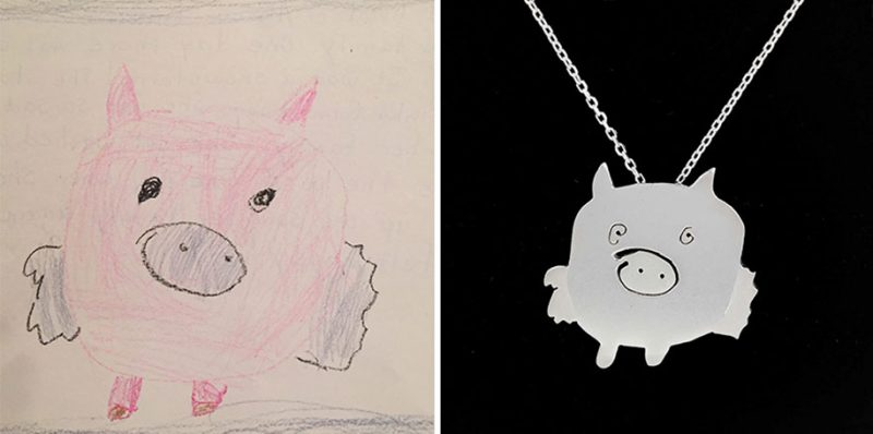 cute-children-art-doodles-drawings-into-jewelry (4)
