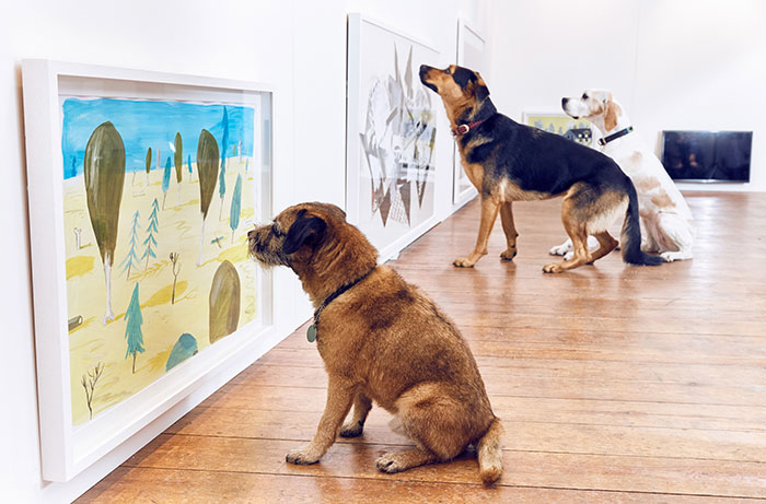 fun-world-first-dog-art-exhibition-installations (1)