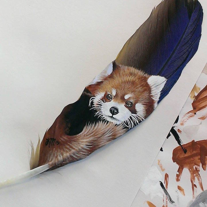 painting-animals-Portraits-Feather (3)
